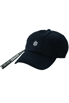 Zephyren (ゼファレン) LONG STRAP LO CAP -ENGRAVE- BLACK