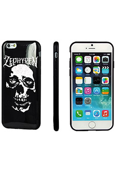 Zephyren (ゼファレン) iPhone X CASE -SkullHead- BLACK