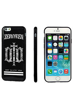 Zephyren (ゼファレン) iPhoneX CASE -ENGRAVE- BLACK