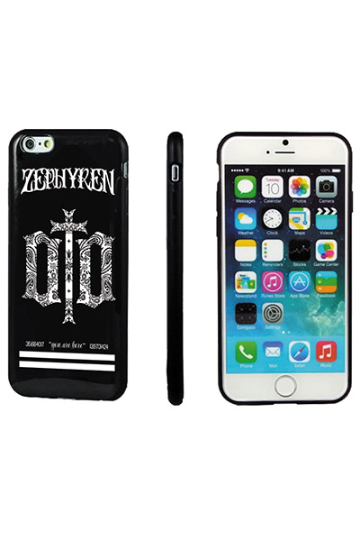iPhoneX CASE -ENGRAVE- BLACK
