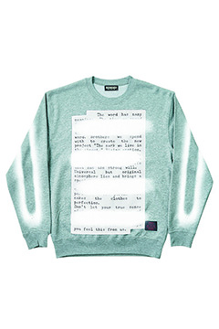 Zephyren (ゼファレン) SWEAT -PLEDGE- GRAY