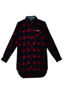 Zephyren (ゼファレン) LONG SHIRT L/S -Resolve- RED CHECK