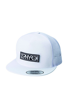 【予約商品】Zephyren (ゼファレン) TWILL MESH CAP -PROVE- WHITE
