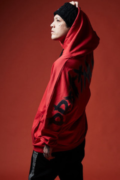 DOLMAN BIG PARKA RED