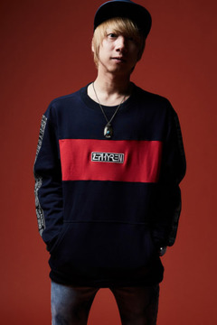 TAPE BIG SWEAT NAVY