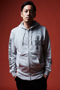 ZIP PARKA - As above, So below - GRAY