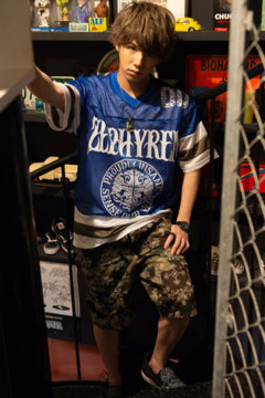 HOCKEY SHIRT S/S  BLUE