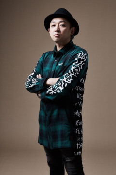 SWITCHING SHIRT L/S GREEN
