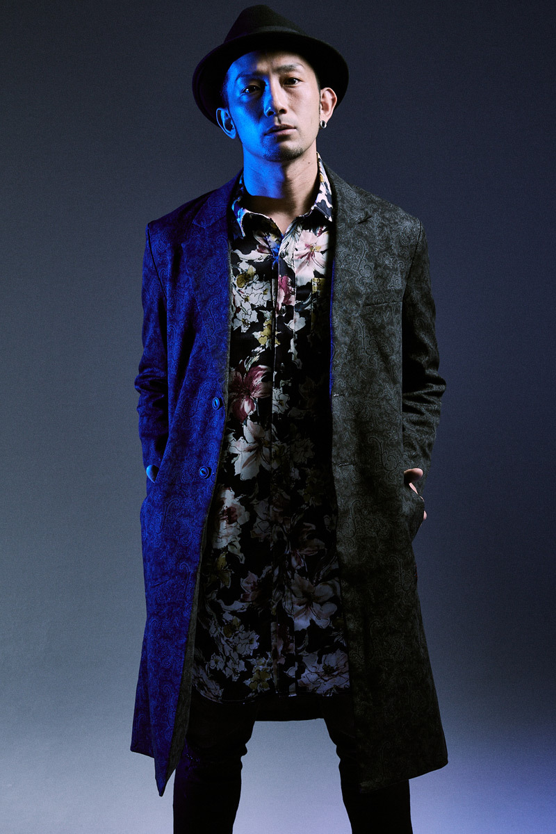 CHESTER COAT  PAISLEY / B