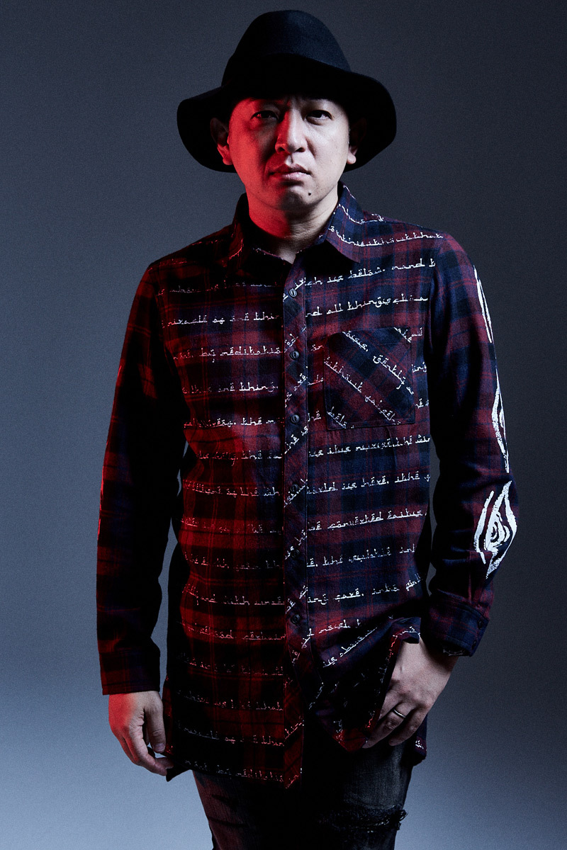 BIG SHIRT L/S - As above,So below - RED