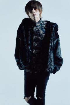 【予約商品】Zephyren(ゼファレン) FUR COAT BLACK